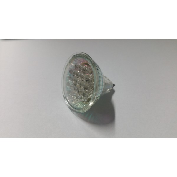 Proiector 21 LED 12V 34.4 LM 1.5W MR16 White